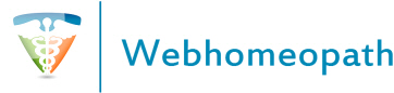 Graphical logo of Webhomeopath